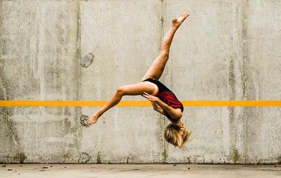 Flawless Flipping: Tumbling Towards Her Dreams