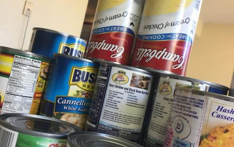LSW DECA Holds Food Drive
