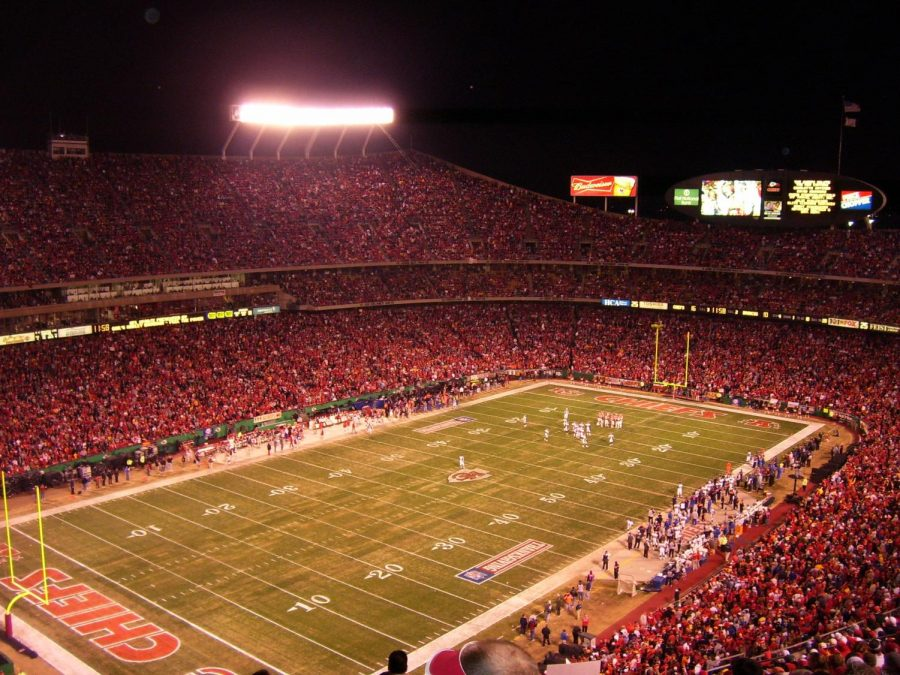 The+AFC+Championship+game+will+be+played+at+Arrowhead+Stadium+in+Kansas+City.+The+NFC+Championship+will+be+played+at+the+Mercedes-Benz+Superdome+in+New+Orleans