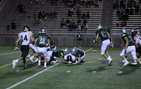 The Lincoln Southwest varsity football team falls to Lincoln Southeast, 28-0 on Sep. 6.