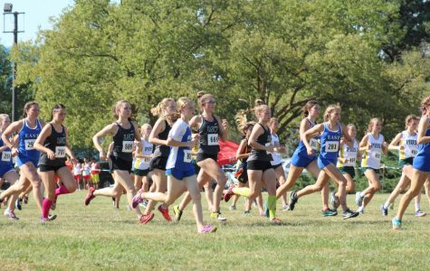 LSW JV XC Races at the Harold Scott Invite