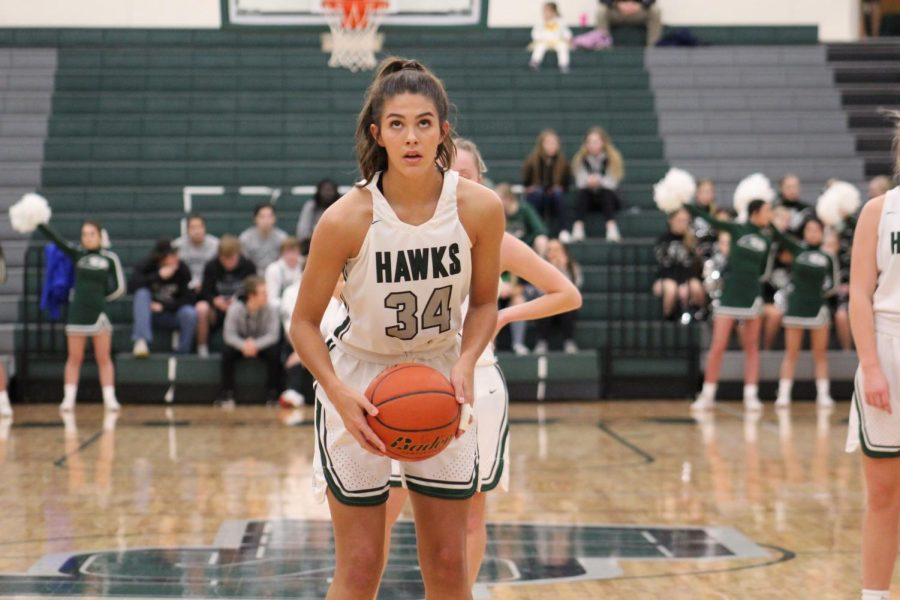 The Lincoln Southwest Varsity girls basketball team lost to Millard North 41-42 on Sat. December, 14. This game was a rematch of last season's Class A State Championship game.