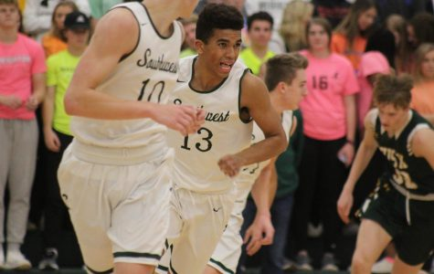 LSW vs Pius X Boys Varsity Basketball Photo Gallery