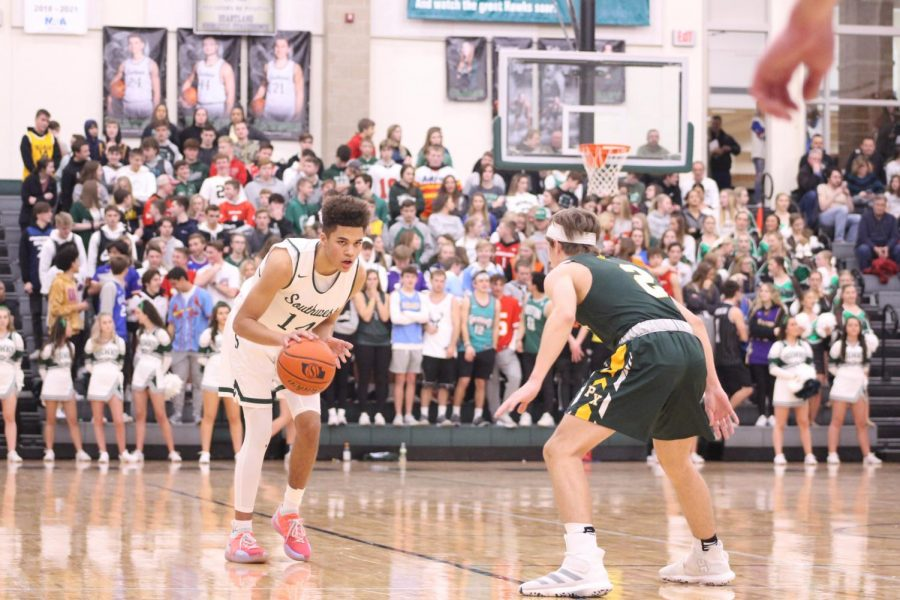 Southwest's Boys basketball team will travel to Fremont High School on Thursday, Jan. 16, 2020 to face off against the Tigers at 7:30. This will be the second time this season LSW has faced Fremont. The first matchup resulted in an 81-55 win for the Silver Hawks.