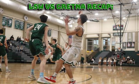 LSW vs. Gretna Boys Varsity Basketball Recap: