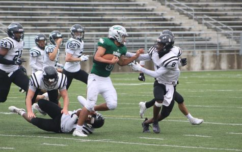 Southwest Football Team Earns First Win of the Season