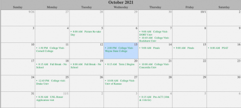 This year, Fall Break gains an extra day. On Tuesday, Oct. 19, there will be no school.
