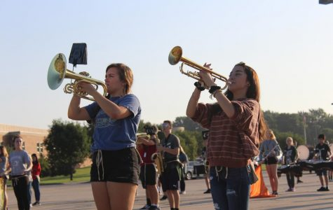 Students Over-The-Moon for Upcoming Marching Band Season
