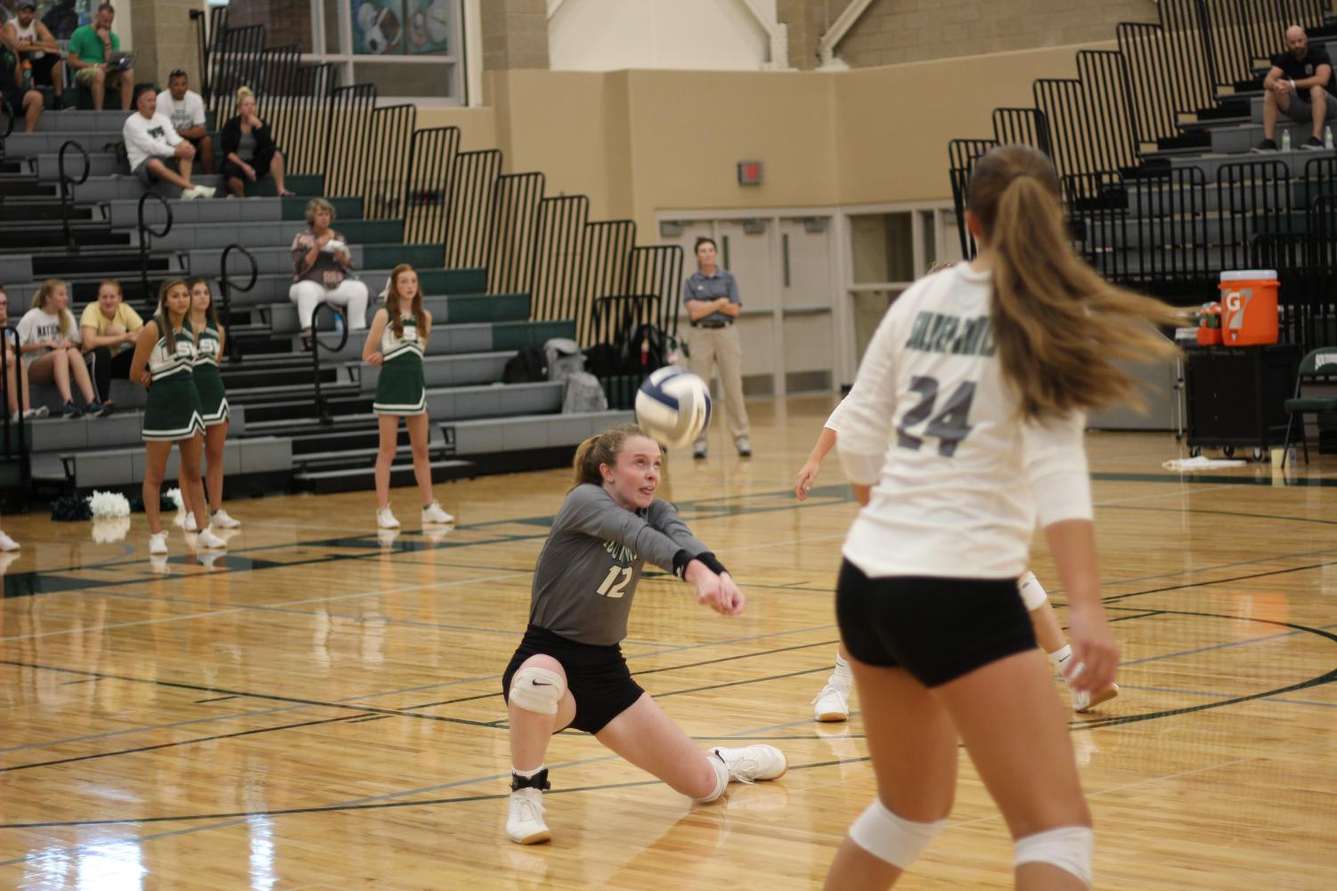 JV Volleyball Fights For a Win