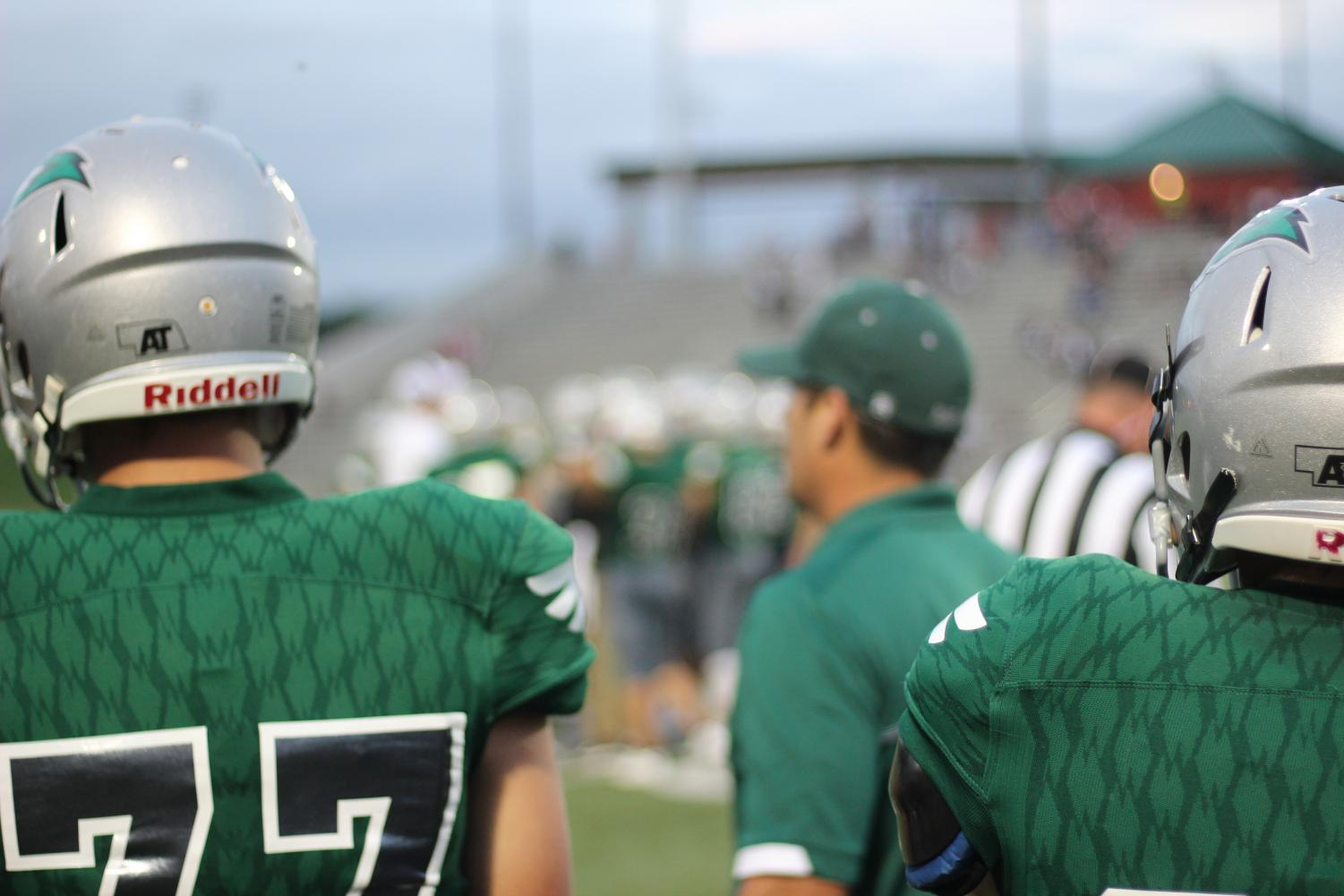 The LSW varsity football team plays Lincoln Southeast Friday, September 6. The Hawks are coming off a 29-0 win against Lincoln North Star last week.