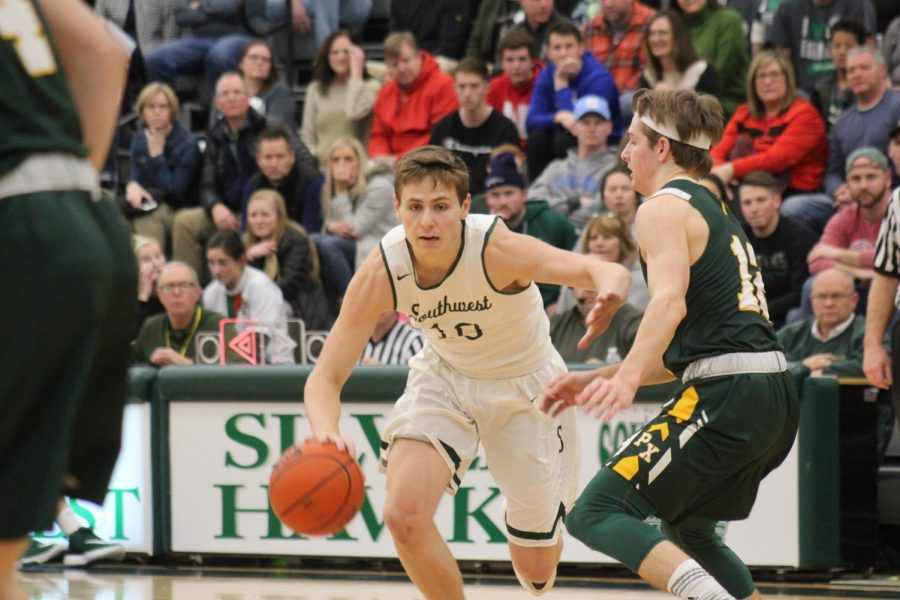 LSW will take on Lincoln North Star at North Star High School with a 7:30 p.m. tip off. The Hawks will be focusing on continuing the momentum of the team's Saturday, January 25 victory against the Kearney Bearcats.