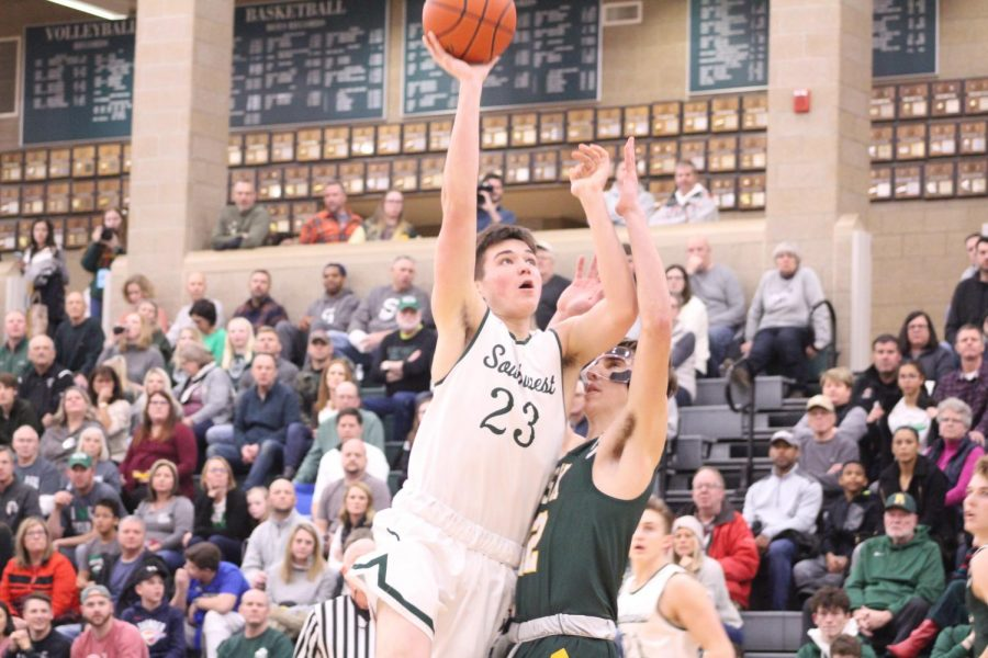 LSW boys varsity basketball will be taking on Omaha Bryan at Omaha Bryan High School with tip off at 7:15 p.m. on Friday, Feb. 21. This will be the final game of the regular season for the Silver Hawks before districts.