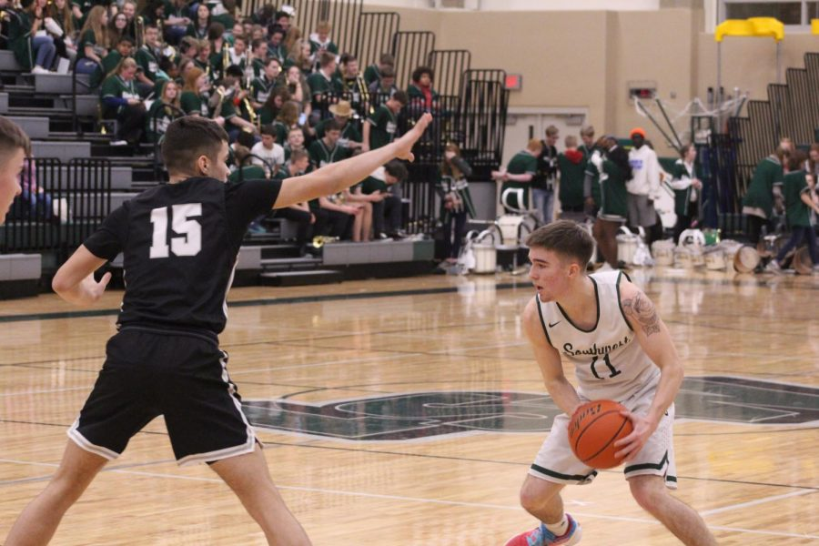 LSW fell to LNE 68-53 on Thursday, Jan. 23, 2020 at Lincoln Southwest High School. This was the Hawks second loss of the season to the Rockets, with the first coming on January 2, 2020 where LSW was out done 69-72.