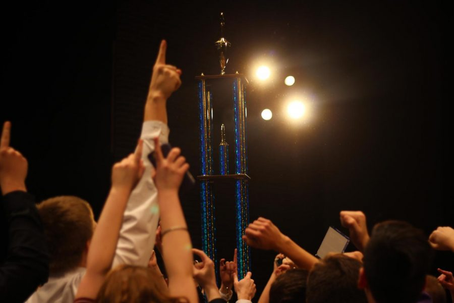 Resonance+swept+the+Spartan+Spectacular+show+choir+competition+on+Saturday%2C+Feb.+1.+Ambience+took+first+in+the+prep+division%2C+and+fourth+runner+up+in+finals.+