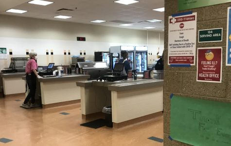 The lunchroom is now offering free lunch and breakfast. Free meals will last as long as federal funding does.