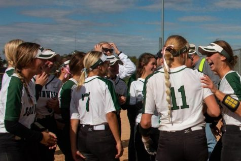 Softball and volleyball teams both finished second place at their tournaments. Both teams played against some of the best teams in the district.