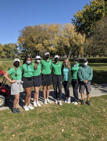 Girls Golf team takes fourth place at state. Next year they hope to place first.