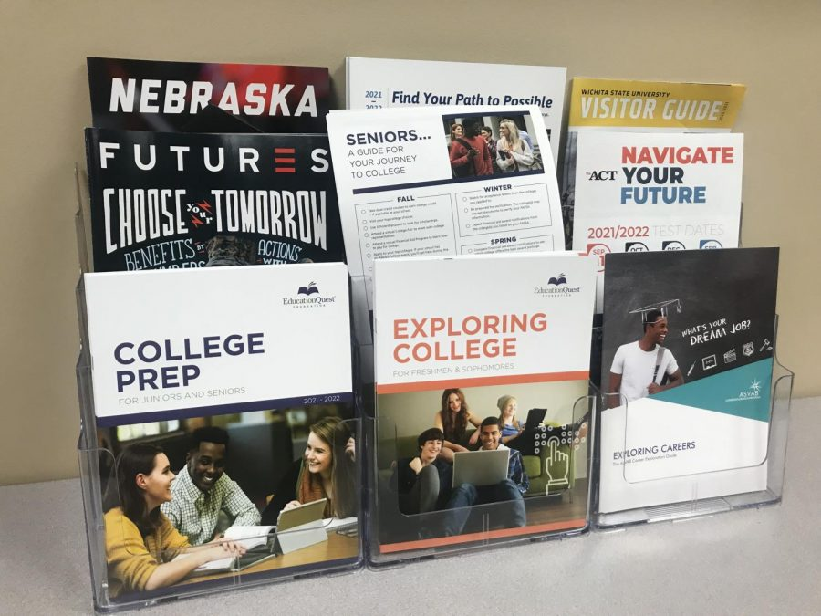 Resources for deciding on colleges to attend found in the Counseling Center.